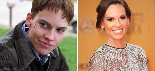 بازیگرانی که در نقش جنس مخالف عالی ظاهر شدند
