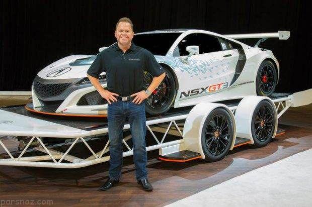 بررسی کامل خودرو آکورا NSX GT3