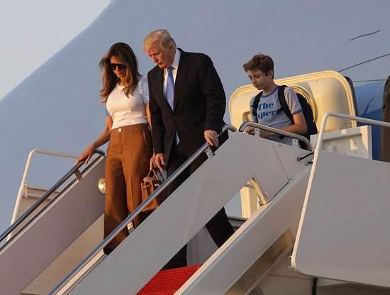 ملانیا ترامپ پس از 5 ماه بالاخره به کاخ سفید آمد
