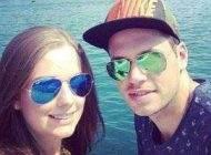 ازدواج دانیال داوری فوتبالیست ایرانی با دختر سوئیسی