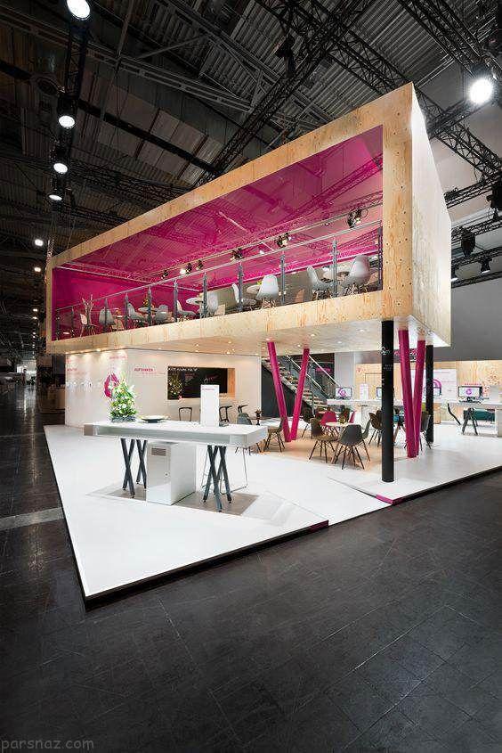 نکاتی درباره طراحی غرفه ها در نمایشگاه ها