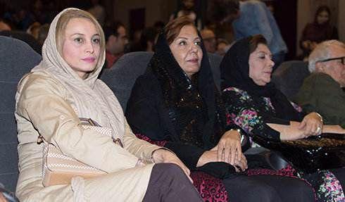 بازیگران مشهور ایرانی در اکران مستند پرتو