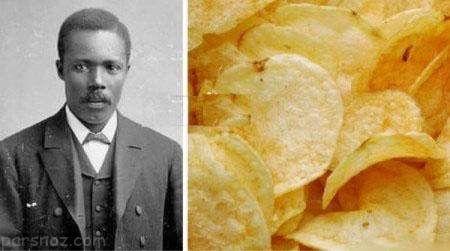 مرد آشپزی که برای اولین بار چیپس را اختراع کرد