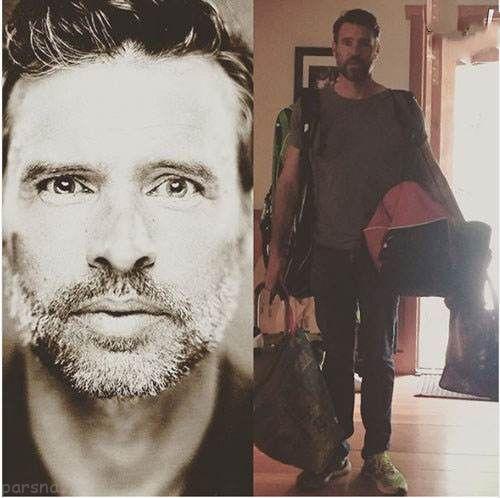 تصاویر بازیگران هالیوودی در روز جهانی پدر
