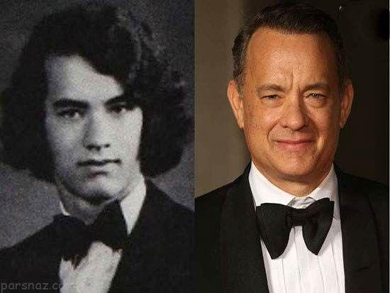 عکس بازیگران معروف هالیوود در دوران دبیرستان