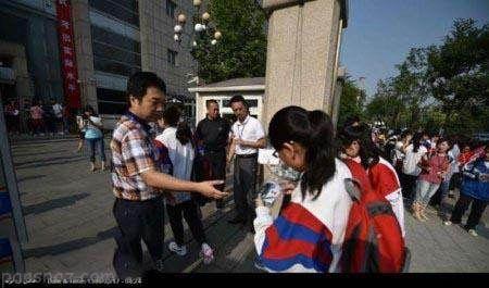 برگزاری بزرگ ترین کنکور دنیا در کشور چین