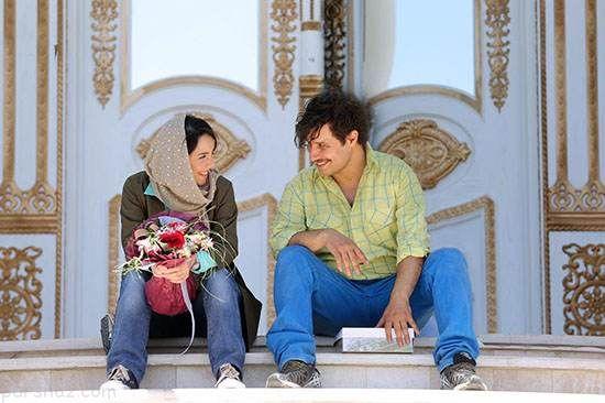 عکس های گلزار و یکتا ناصر در فیلم آینه بغل