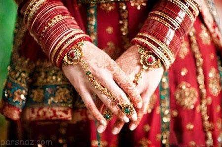چرا دختران هندی به رنگ قرمز بسیار علاقمند هستند؟