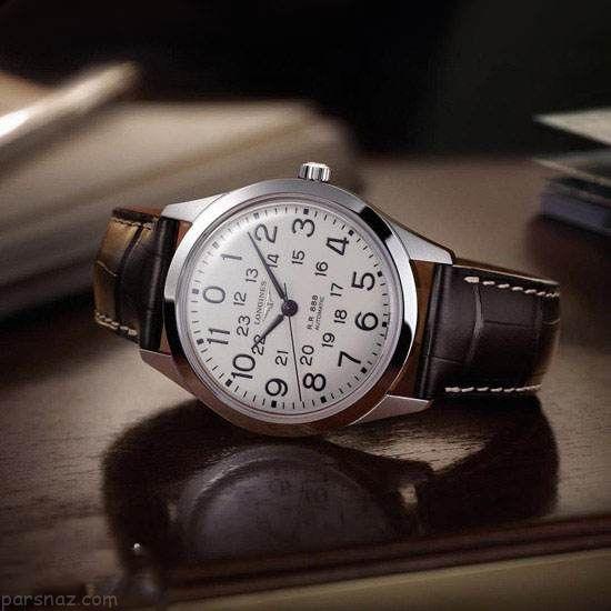 مدل های لو ساعت نه برند longines