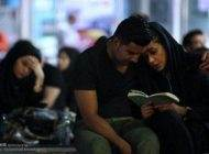 مردم ایران در شب های احیا ماه رمضان
