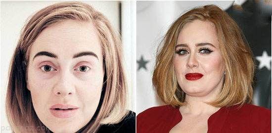 زنان ستاره و مشهور جهان بدون آرایش چگونه هستند؟