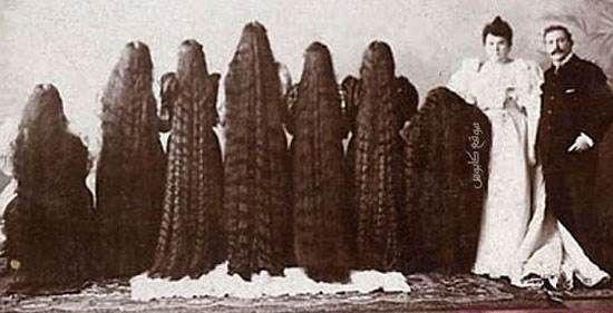 عکس های دیدنی از اولین دختران مدلینگ آمریکایی