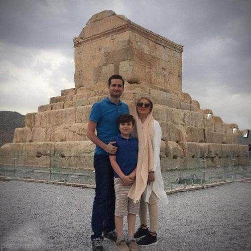 بیوگرافی و عکس های پویا امینی و همسرش