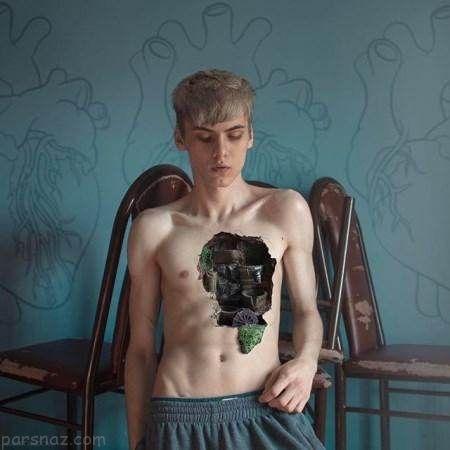 آثار سورئال و بسیار جالب عکاس روسی