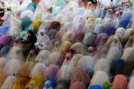 تصاویر زیبا و دیدنی از ماه رمضان در کشورهای جهان