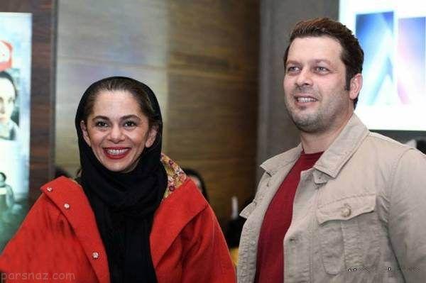 تصاویر جدید پژمان بازغی و همسرش مستانه مهاجر