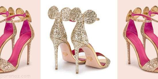 کفش های پاشنه بلند زنانه با طراحی عجیب و غریب