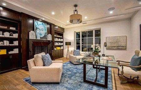 دکوراسیون خانه لاکچری د ویکند خواننده مشهور
