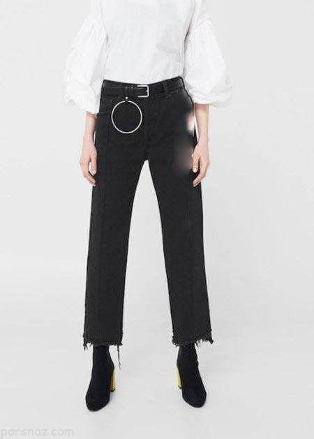 جدیدترین مدل های شلوار جین زنانه برند منگو