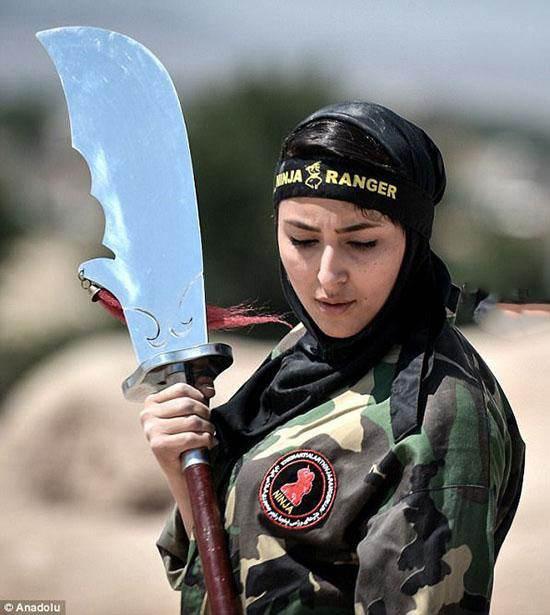 دختران نینجای ایرانی در گزارش جنجالی دیلی میل