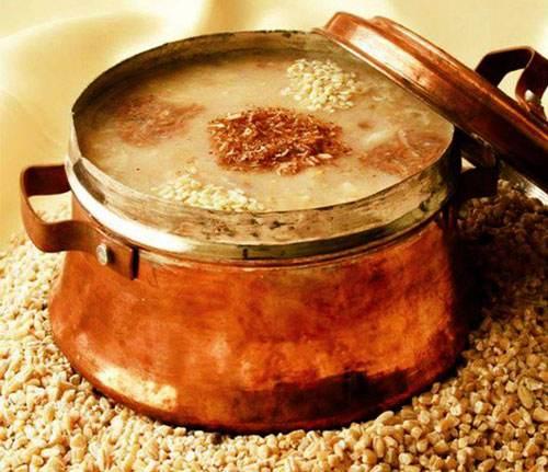 طرز تهیه حلیم گندم مناسب برای وقت افطار