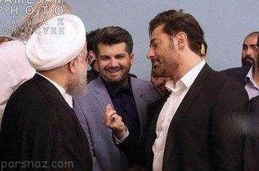 واکنش محمدرضا گلزار به تصویرش در کنار رئیس جمهور