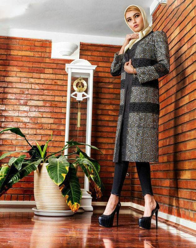 مدل های زیبای مانتو ایرانی برند Miniature