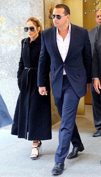 جنیفر لوپز و نامزد جدیدش همه جا با هم هستند