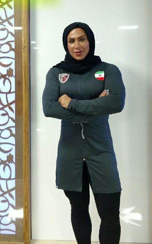 مصاحبه با سارا مصطفی نژاد دختر بدنساز ایرانی