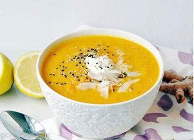 طرز تهیه سوپ هویج و زنجبیل رژیمی
