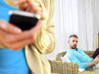 تاثیر دنیای مجازی روی رابطه زن و شوهر