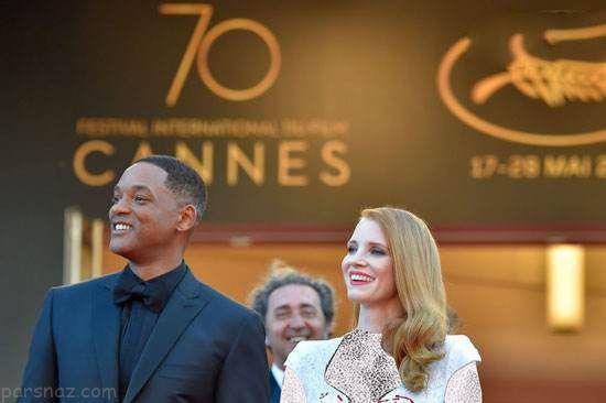 بازیگران و ستاره ها در اختتامیه جشنواره کن 2017
