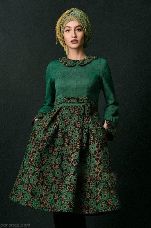 جدیدترین مدل مانتو ایرانی تابستانی برند پوش ما