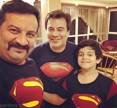 عکس های خانوادگی مشهورترین بازیگران ایرانی