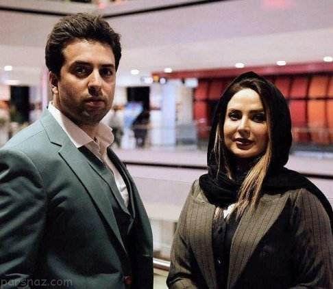 جدیدترین تصاویر سولماز آقمقانی در کنار همسرش