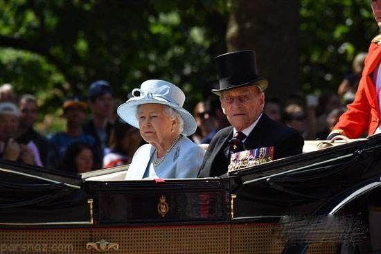 استایل کیت میدلتون در جشن تولد ملکه الیزابت