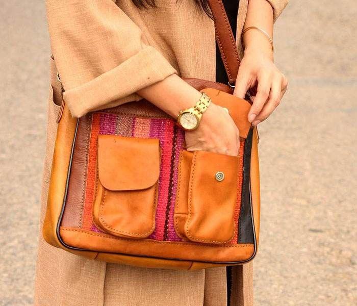 مدل های جدید کیف چرم زنانه دست دوز