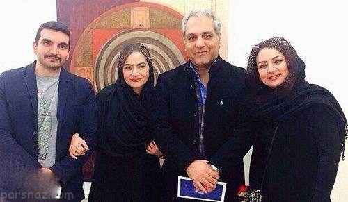 عکس های مهران مدیری در کنار نوه اش