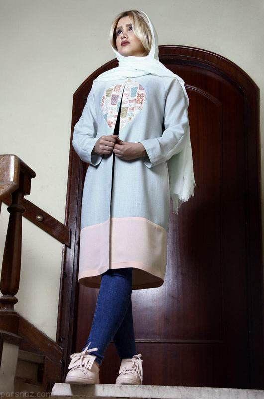 مدل مانتو بلند تابستانی زیبا از برند Titi