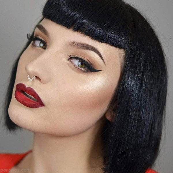 خاص ترین مدل های آرایش صورت فشن 2017