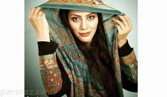عکس مارال فرجاد با لباس عجیب و غریب اما زیبا