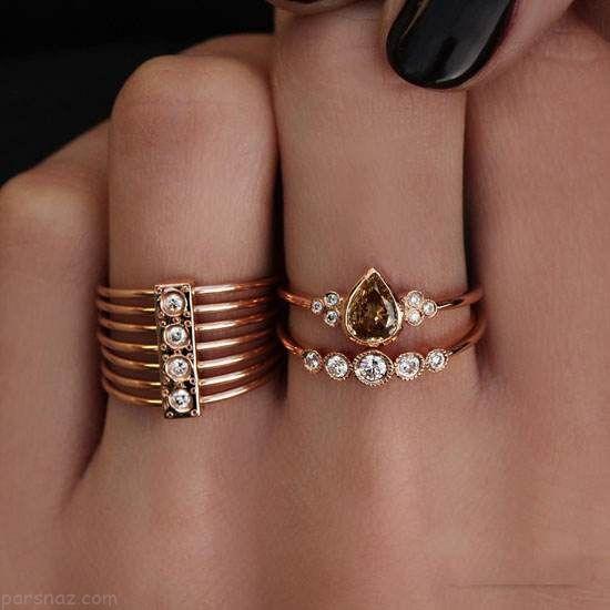 شیک ترین مدل های زیورآلات طلا برند Luna Skye