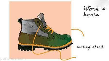 تست شخصیت شناسی از روی کفش و دمپایی