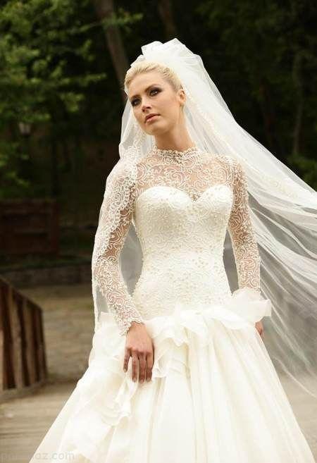 بهترین مدل های لباس عروس شیک و مد روز