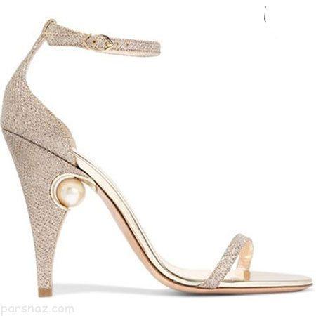 شیک ترین مدل های جذاب کفش عروس 2017