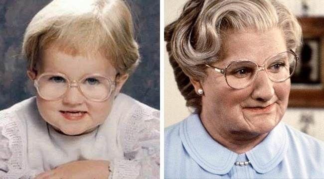 شباهت عجیب این کودکان به بازیگران مشهور سینما
