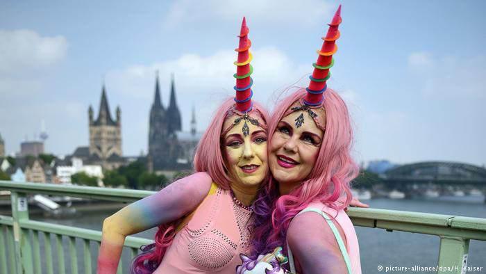 عكس هاي عجيب و غريب رژه همجنس گرايان آلمان