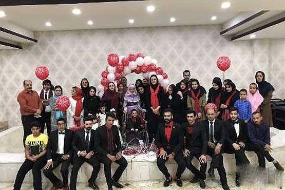 ازدواج جنجالی پسر 7 ساله با دختر جوان ایرانی +عکس