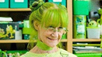 سبزترین زن جهان را بشناسید +عکس