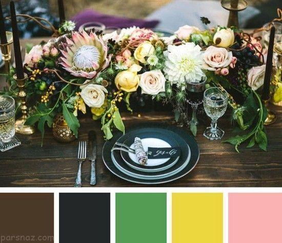 بهترین رنگ بندی برای تزیین مراسم عروسی